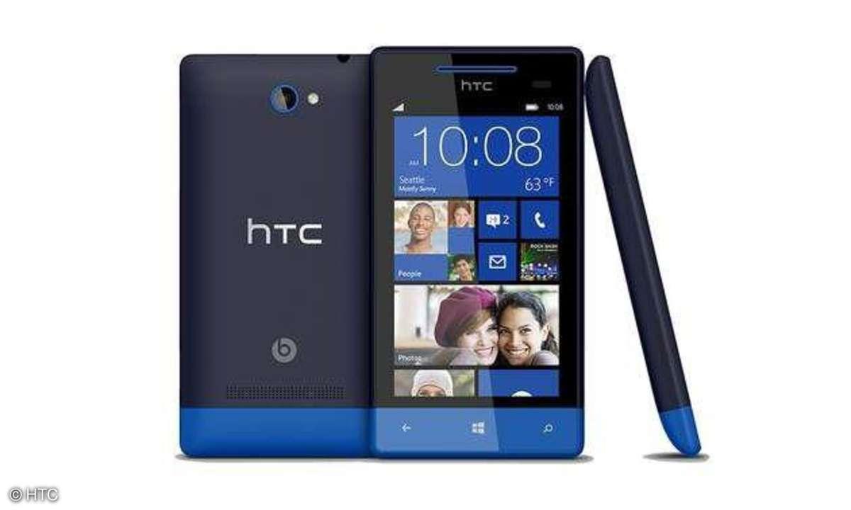 HTC Smartphone mit Windows Phone 8
