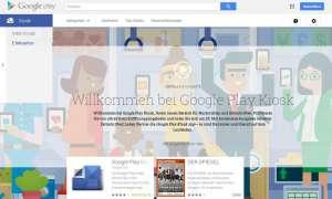 Google Play Kiosk Start in Deutschland