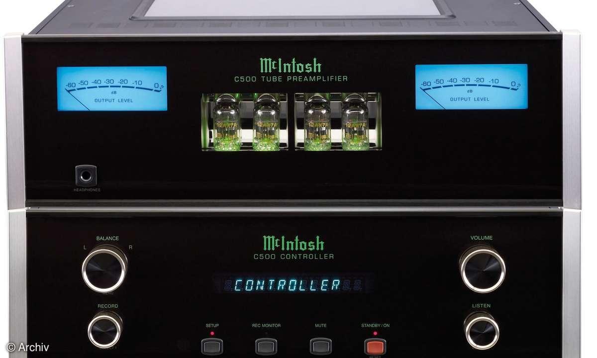 Vorstufe McIntosh C 500 C / C 500 T