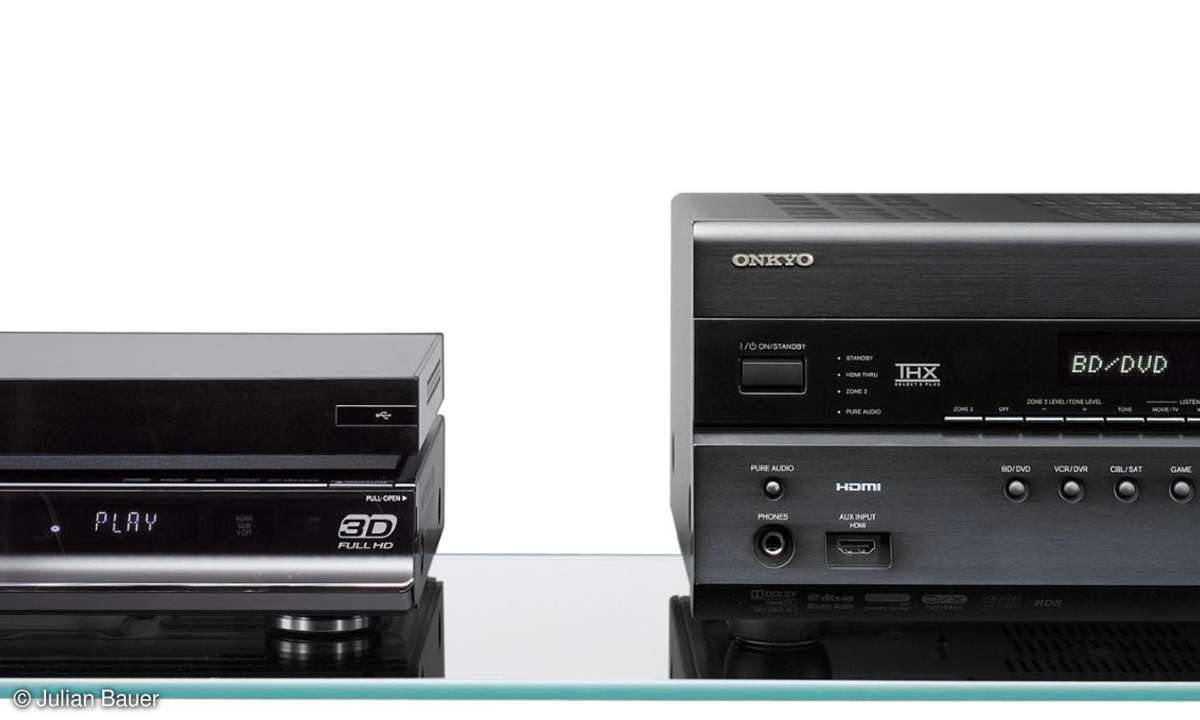 Blu-ray-Player Panasonic DMP BDT 300, Samsung BD C 6900