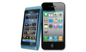 Apple iPhone 4 Nokia N8