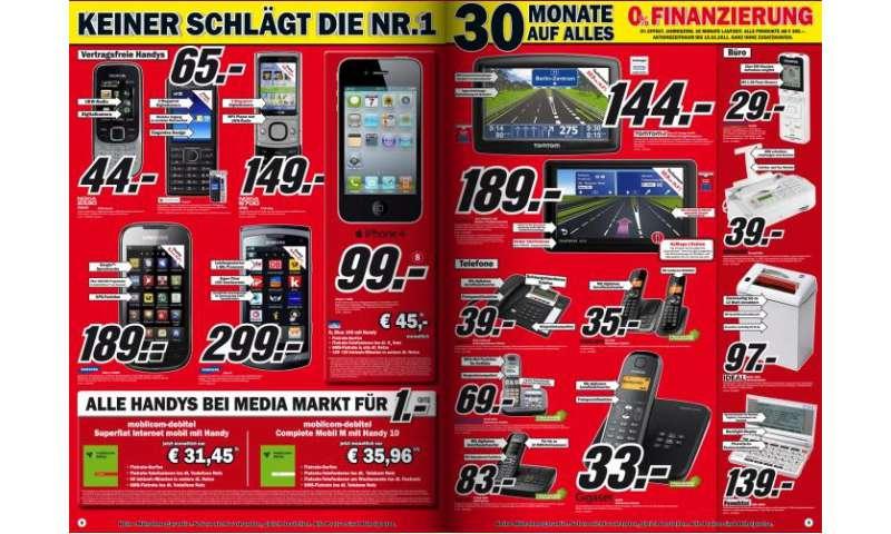Handys Im Mediamarkt Prospekt Connect