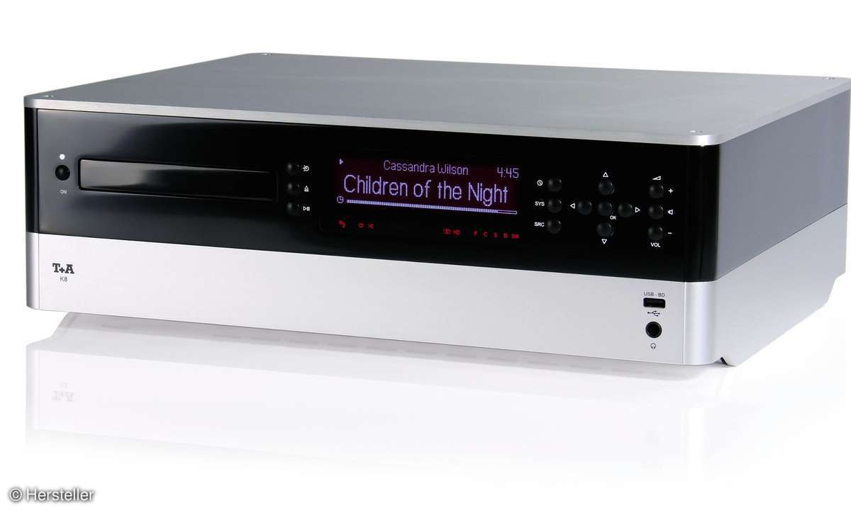 T+A K8 - 7.1 Blu-ray-HD-Receiver