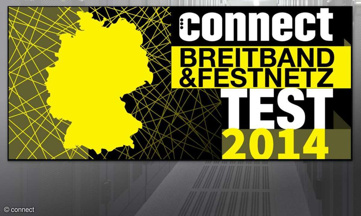 connect Festnetz- und DSL-Test 2014