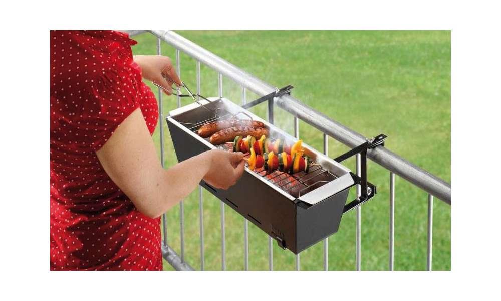 die besten gadgets für balkon und garten - mini-grill - connect, Garten und erstellen
