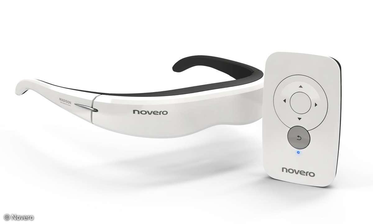 Produktneuheit vom MWC 2011: Die Videobrille Madison von Novero