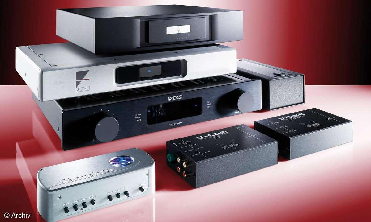 Phono-Vorverstärker zwischen 190 und 5300 Euro