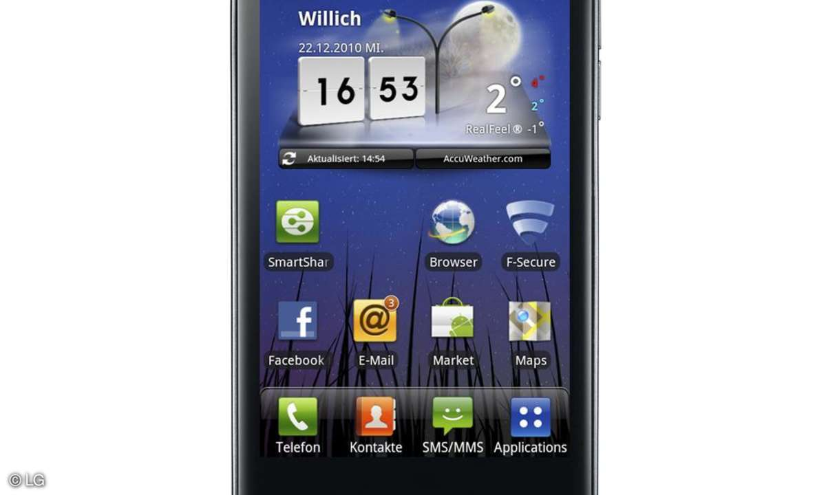 LG P990 Optimus Speed