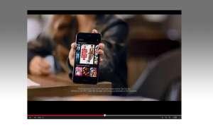 Amazon Fire Phone Werbespot