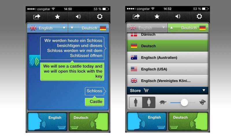 übersetzer App Test