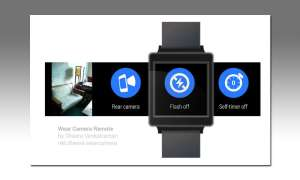 Android Wear Apps - Wear Camera Remote