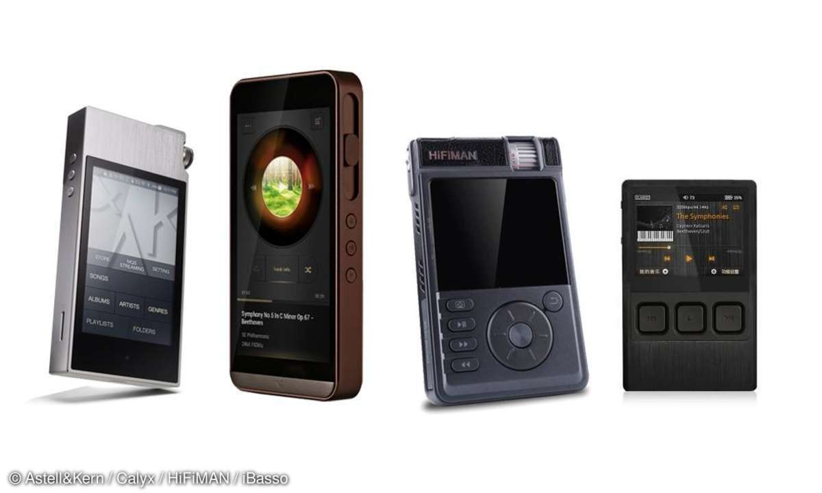 Test: Vier tragbare MP3-Player