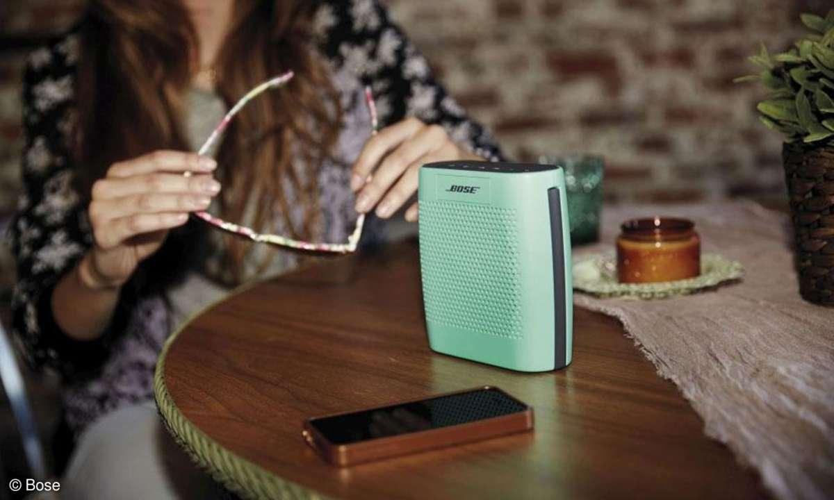 Bose SoundLink Colour-Bluetooth Speaker Mintgrün
