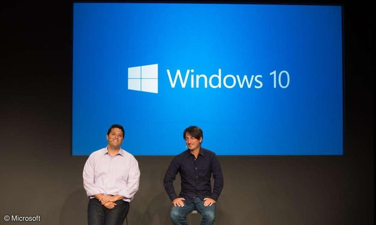 Windows 10,Windows,Microsoft,Joe Belfiore,Terry Myerson,Betriebssystem,Vorstellung,Event