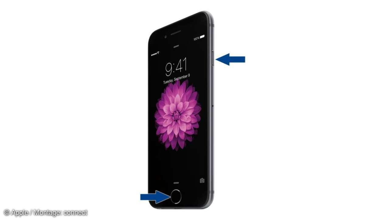 iPhone 6 Screenshot machen