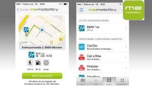 MeMobility Carsharing App