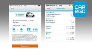 Car2go Carsharing App