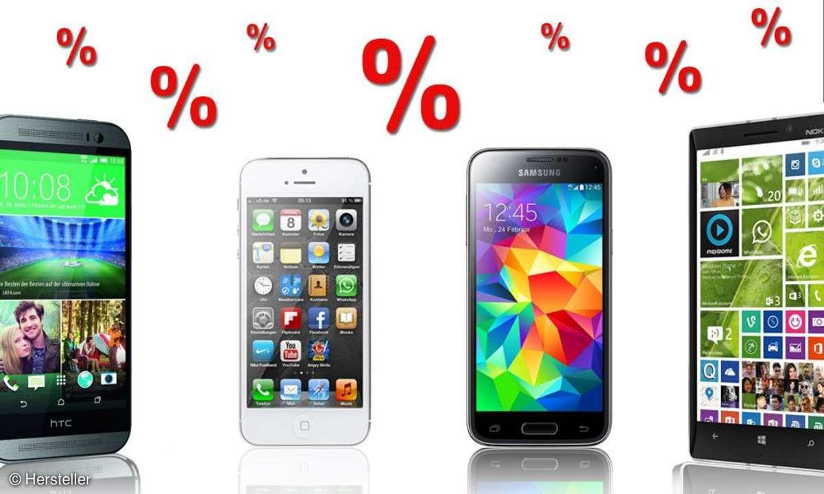 Aktuelle Smartphone-Schnäppchen