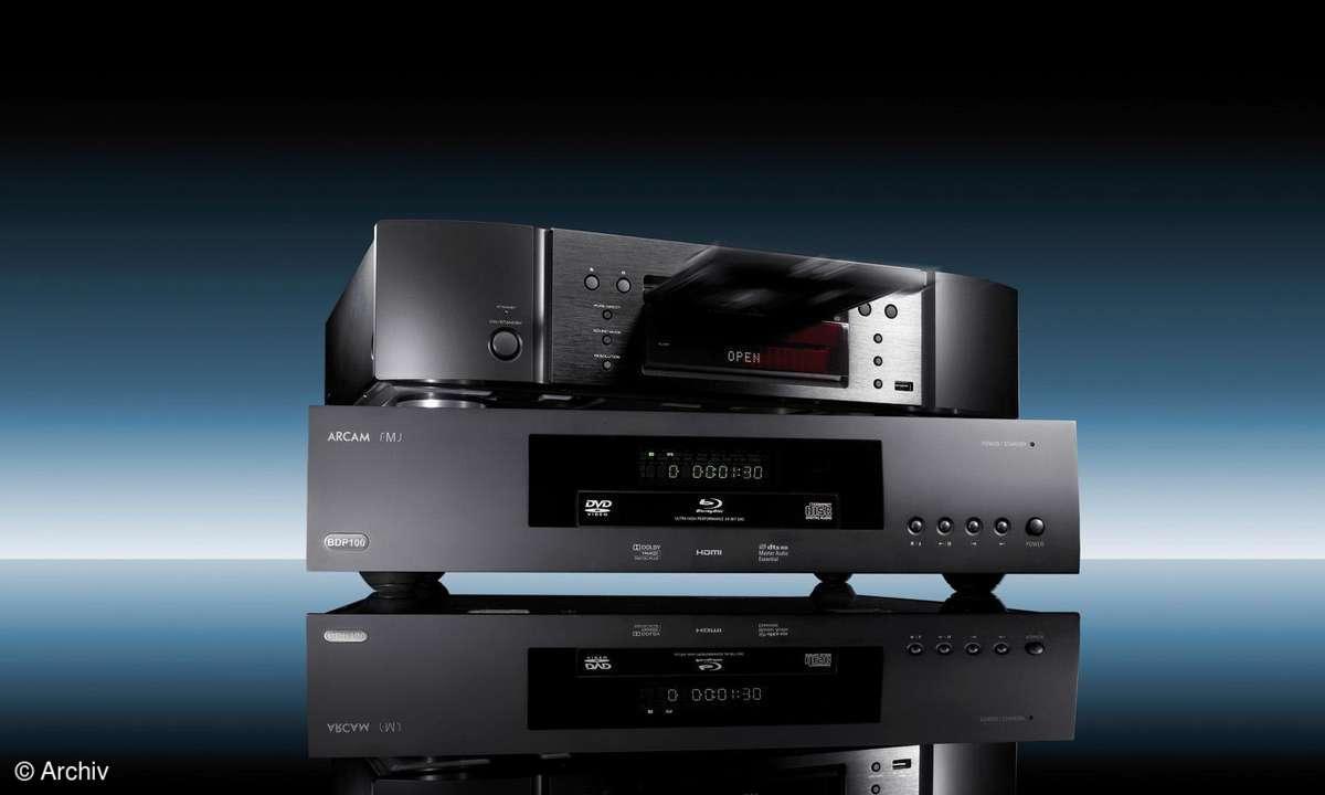 Blu-ray-Player Arcam FMJ BDP 100, Marantz UD 5005