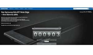 Samsung Note Edge Voting