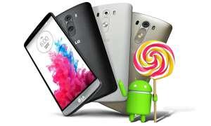 Smartphones mit Android 5