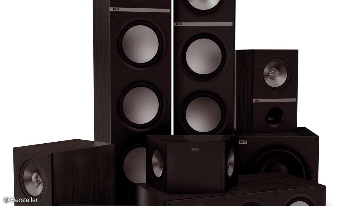 Surround-Lautsprecherset von KEF