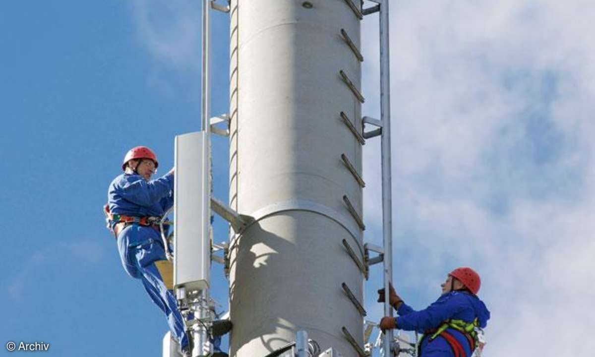Mobilfunk-Mast LTE