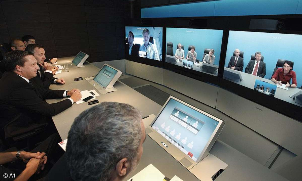 Telepresence Videokonferenz LTE