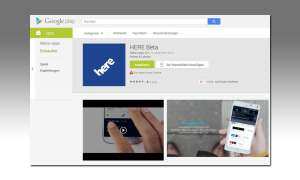 Here Navi-App für Android