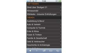 ZDF-Mediathek für iPhone