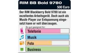 RIM Blackberry Bold 9780