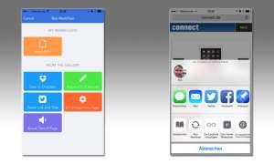 Workflow, App