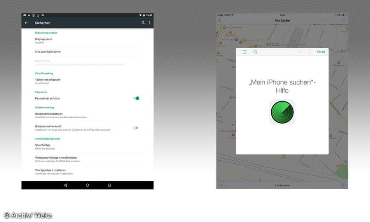 Android vs. iOS: Sicherheit