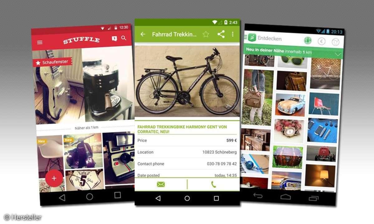 Kleinanzeigen Apps Vergleich