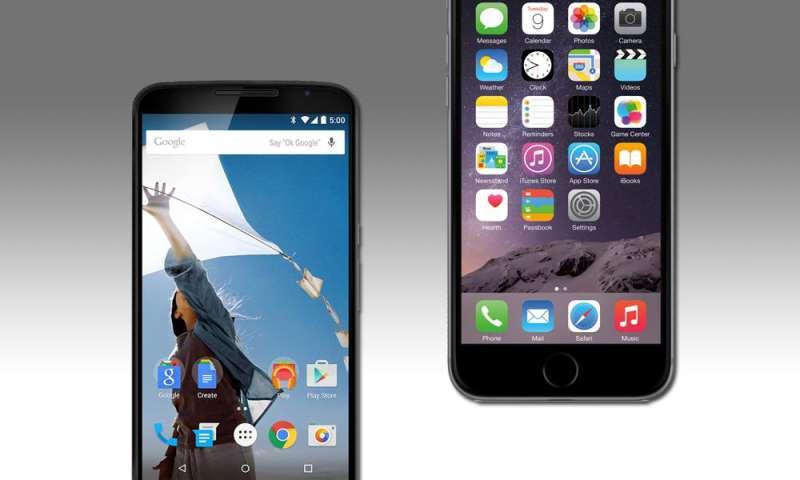 vergleich ios android