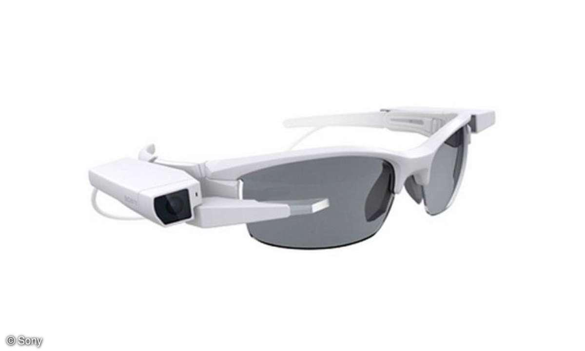 Sony Smart Eyeglass Attach!