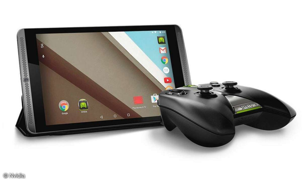 Nvidia Shield Tablet mit Controller