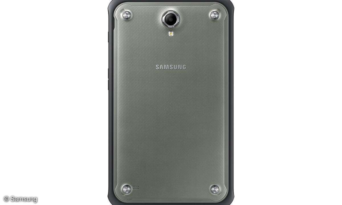Samsung Galaxy Active Rückansicht
