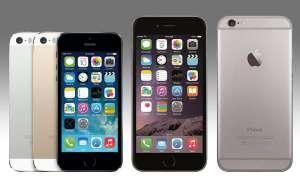 Apple iPhone 5s vs. iPhone 6