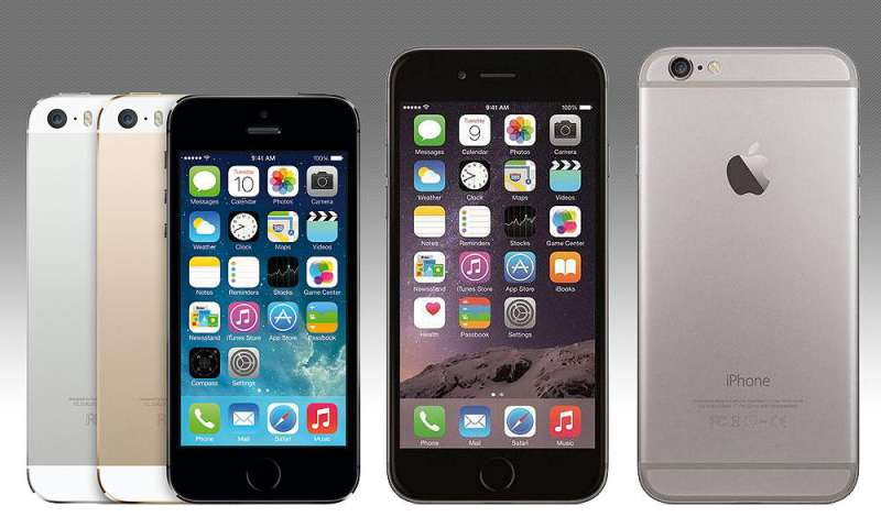 Apple IPhone 5s Vs 6
