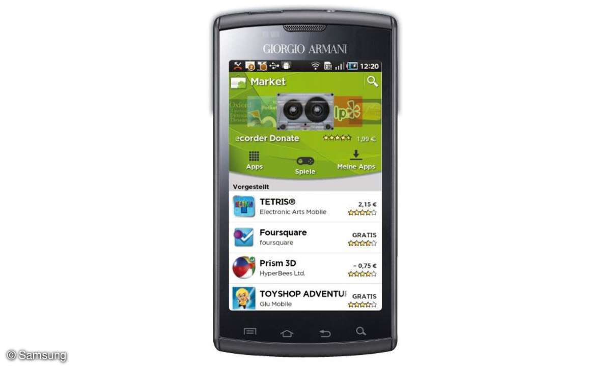 Samsung Emporio Armani Galaxy S