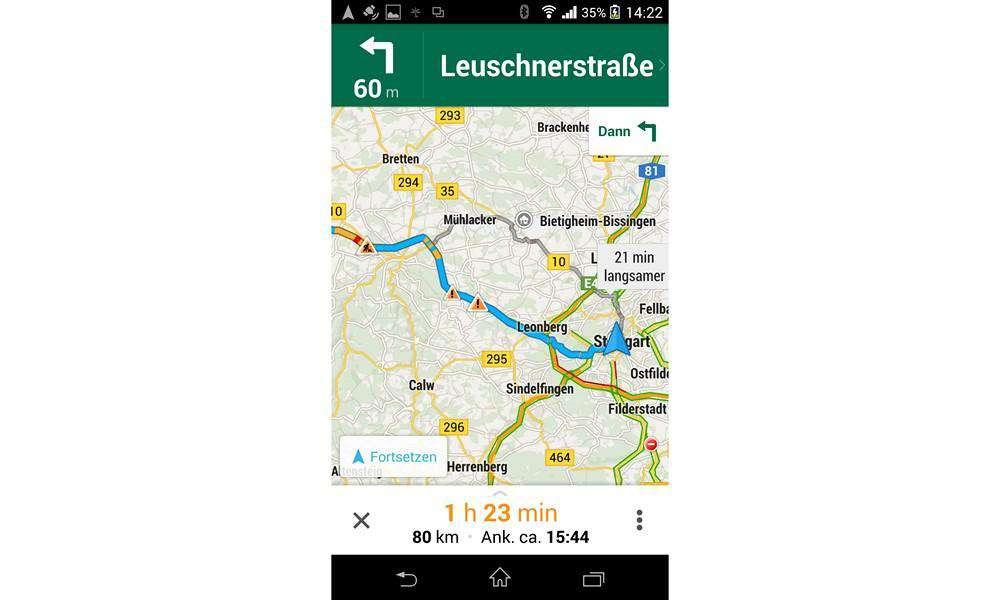 10 besten Navi-Apps - Platz 5: Google Maps (Android und iOS ... on