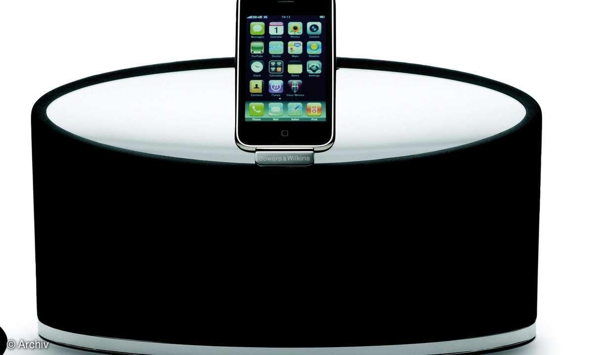 iPod-Dockingstation B&W Zeppelin Mini