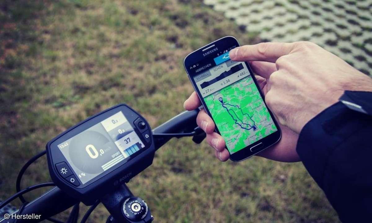E-Bike Routenplanung