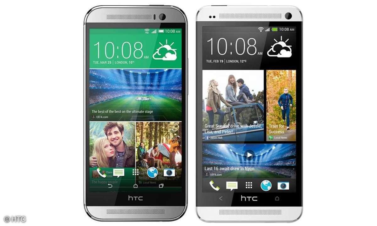 HTC One M7 und M8