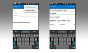 Microsoft Outlook für Android