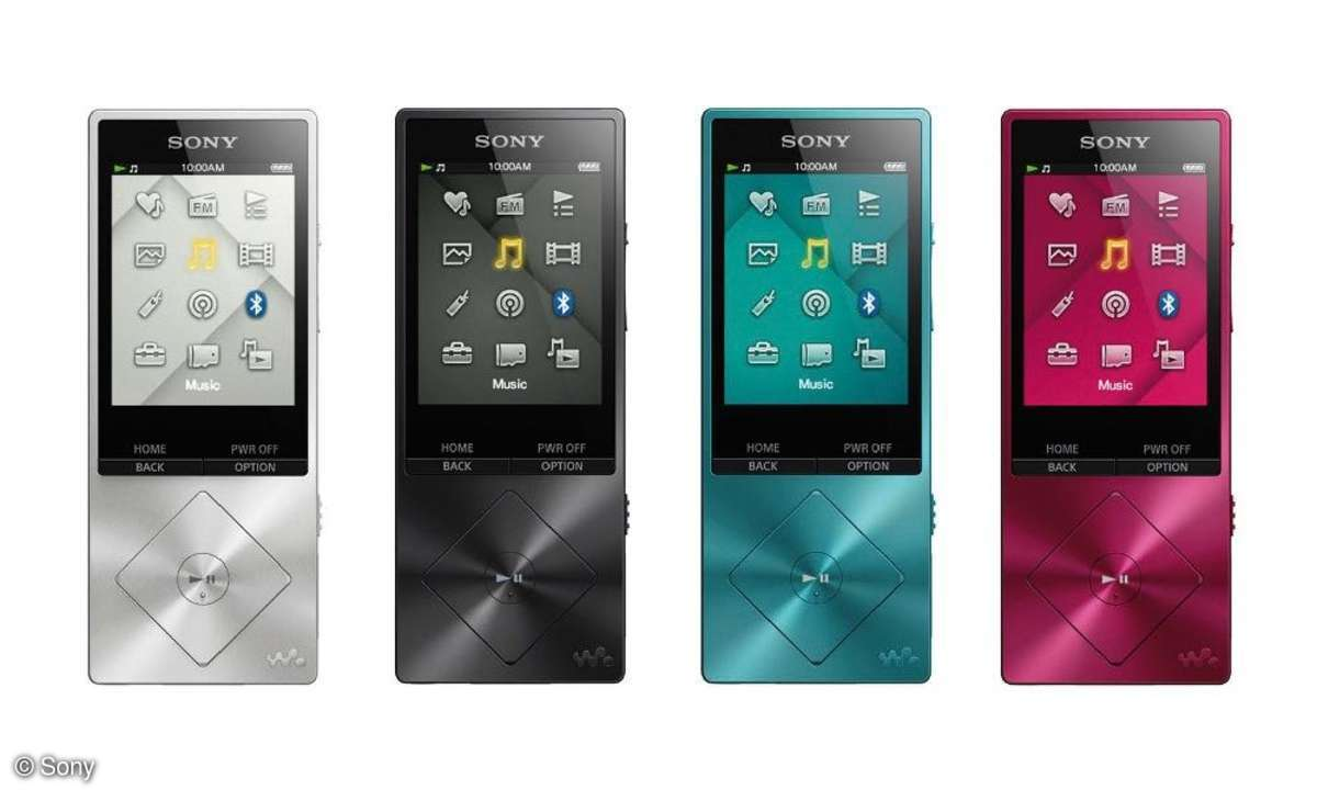Sony NWZ A15 HiRes-Player im Test