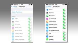 iOS Einstellungen In-App-Käufe deaktivieren