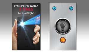 Android App: Power-Taste Taschenlampe