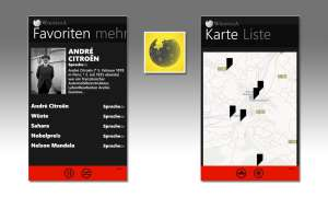Wikipedia für Windows Phone